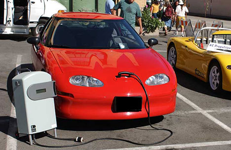 The Ev1 Electric Car